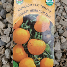 Load image into Gallery viewer, Tomato - Taxi - Certified Organic + Heirloom