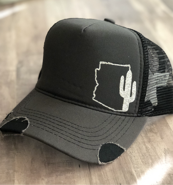 Arizona cactus hat