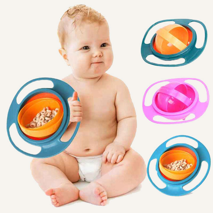 Spill-Proof Baby Bowl (50% OFF)