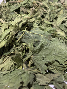 Nettles for rabbits to forage as a healthy treat