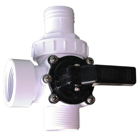3-way valve 1 1/2 '' With quick connect