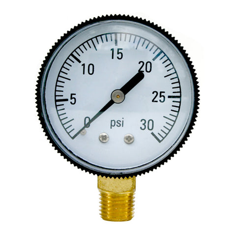 IPG side pressure gauge for swimming pool
