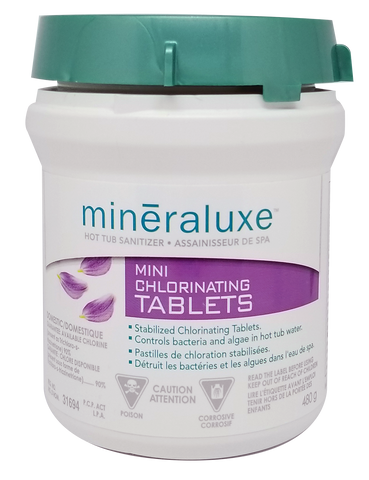 Minéraluxe mini-chlorinating tablets