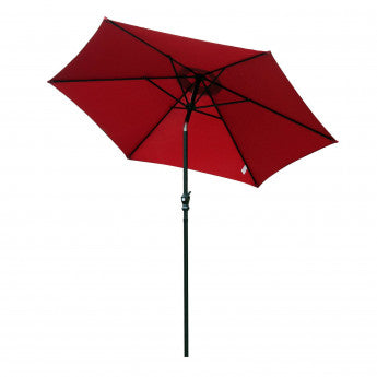 Parasol inclinable 9'