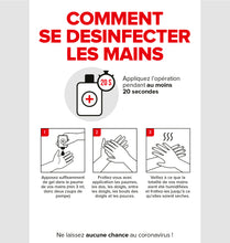 Afbeelding in Gallery-weergave laden, Affiche 10: Comment se désinfecter les mains