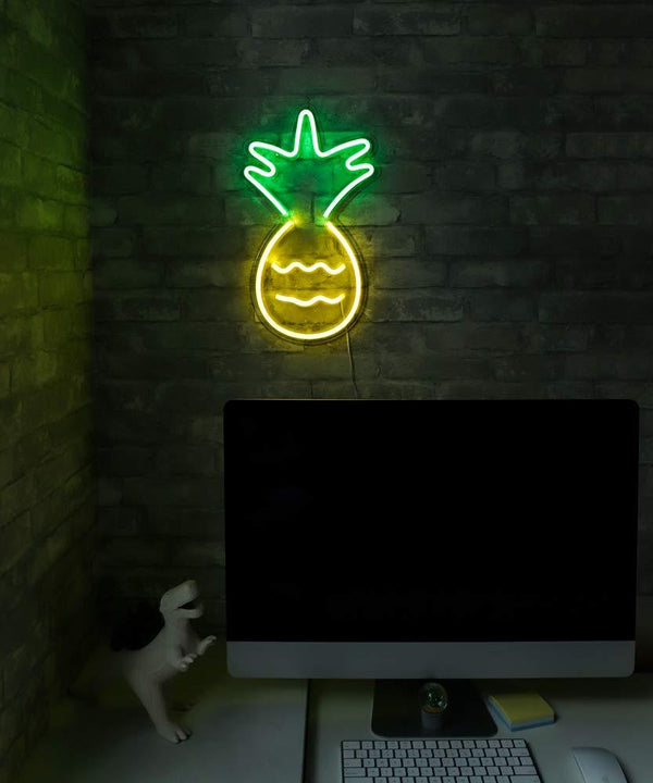 Pineapple LED Neon Sign by Ocean Galaxy Light™