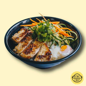 Grilled Lemongrass Chicken Bowl