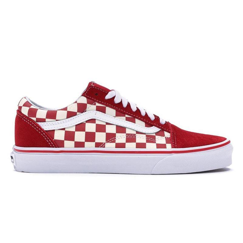 New Van Original old skool MIx Checker OTW REPEAT FEAR OF GOD CHECKERBOARD canvas mens sport sneakers fashion casual shoes size 36-44