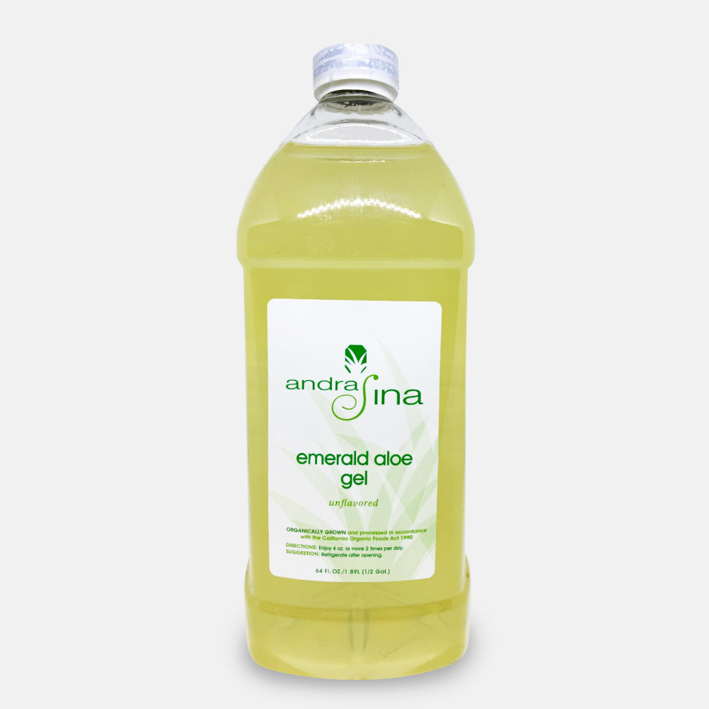Emerald Aloe Gel With Irish Moss<br>64 oz.