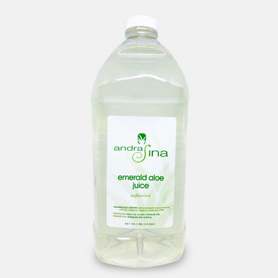 Emerald Aloe Juice - Natural<br> 64 oz.