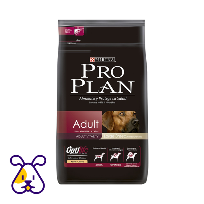 CONCENTRADO P/PERRO PRO PLAN OPTIHEALTH ADULTO LARGE BREED 13 KG