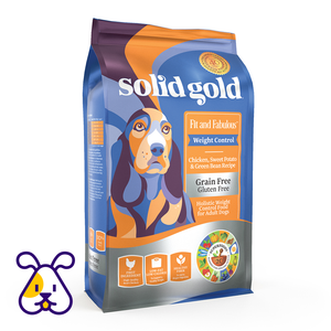 SOLID GOLD ALIMENTO P/PERRO FIT & FABULOUS CHICKEN GRAIN FREE 24 LBS
