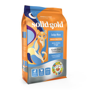 SOLID GOLD ALIMENTO P/GATO INDIGO MOON CHICKEN GRAIN FREE