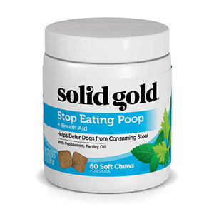 SOLID GOLD SUPLEMENTO PARA PERROS STOP EATING POOP 60 CHEWS