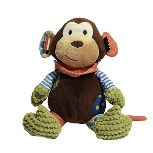 ROSEWOOD PET CHUBLEEZ MITCHELL MONKEY SQUEAKY DOG TOY