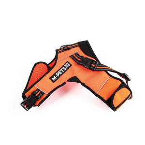 M-PETS® HIKING TRIANGLE HARNESS XL - ORANGE BLACK