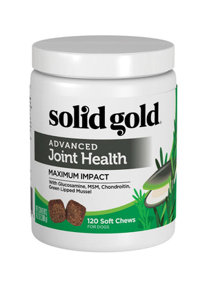 SOLID GOLD ADVANCED JOINT HEALTH MAXIMUN IMPACT 120 CHEWS