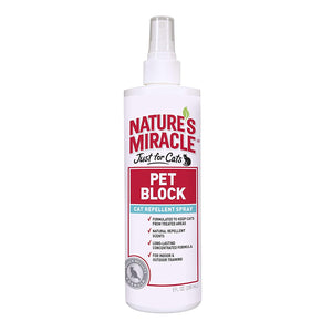NATURES MIRACLE PET BLOCK CAT SPRAY 8oz