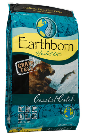 CONCENTRADO P/PERRO EARTHBORN HOLISTIC COASTAL CATCH 12 KG