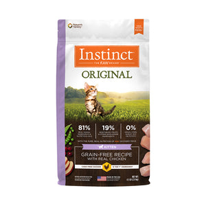 CONCENTRADO P/GATO INSTINCT ORIGINAL GRAIN-FREE CHICKEN KITTEN 4.5 LB