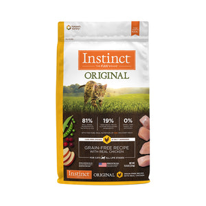 CONCENTRADO P/GATO INSTINCT ORIGINAL GRAIN-FREE CHICKEN 2.2 LB