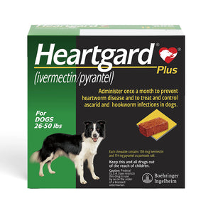 DESPARASITANTE PARA PERRO HEARTGARD PLUS TABLETA