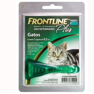 ANTI-PULGAS P/GATO FRONTLINE PLUS PIPETA 0.5 ML