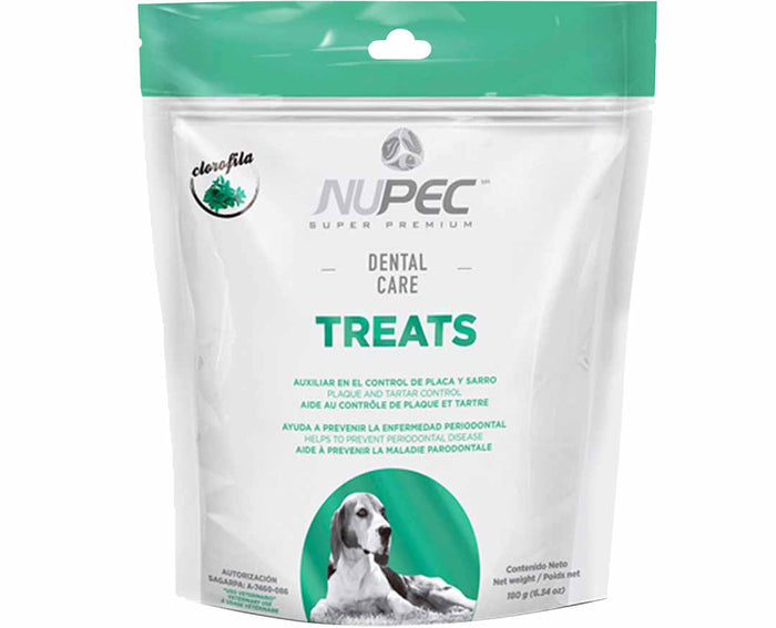 TREATS P/PERRO NUPEC DENTAL CARE 180 G