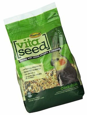 ALIMENTO P/AVES VITASEED COCKATIEL 2.5 LB