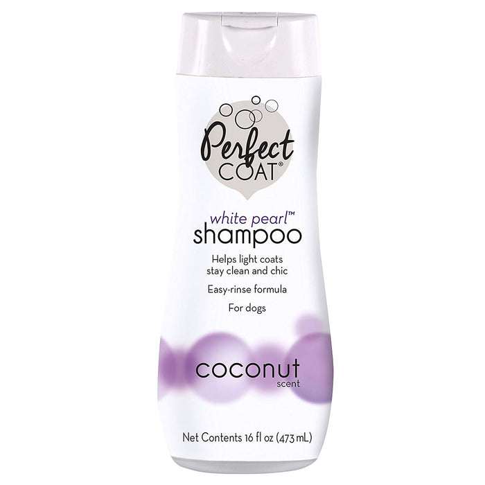 SHAMPOO WHITE PEARL PERFECT COAT #642 16 OZ.
