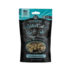 VITAL ESSENTIALS CAT FREEZE-DRIED WILD ALASKAN SALOM GRAIN FREE (1.1 oz)