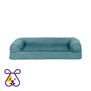 FURHAVEN CAMA P/PERRO ORTHOPEDIC SOFA PLUSH AND SUEDE