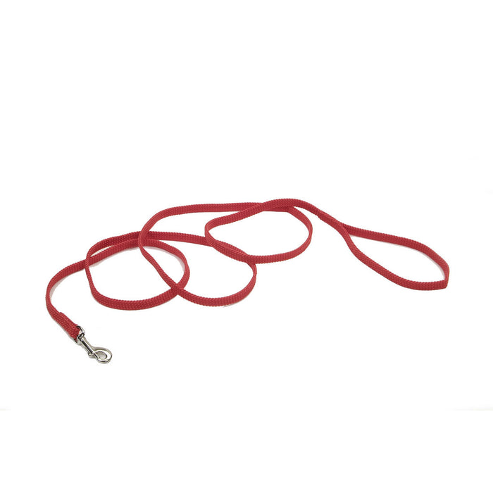 "COASTAL® SUNBURST LEASH RED 3/8"" X 6"""