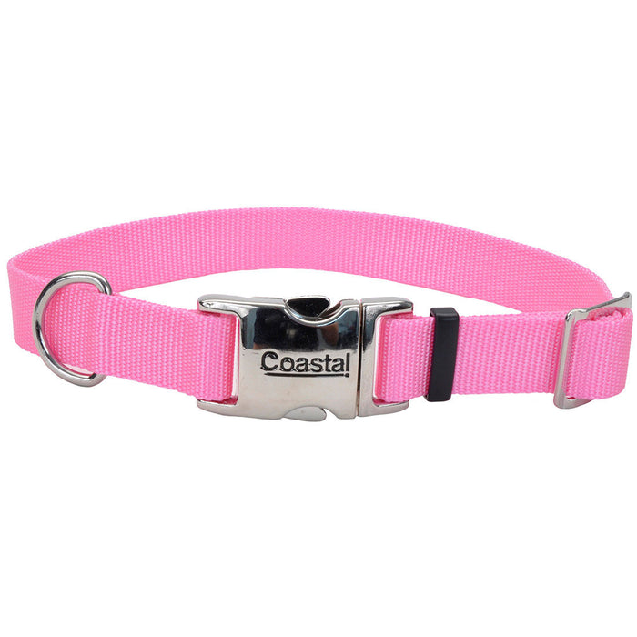 COASTAL® METAL BUCKLE COLLAR ORCHID