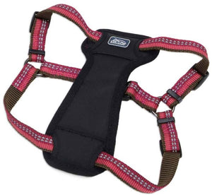 "COASTAL REFLECTIVE PADDED HARNESS BERRY 1"" X 20""-30"""