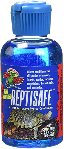 ACONDICIONADOR P/AGUA ZOO MED REPTISAFE WATER CONDITIONER 2.25 OZ WC-2