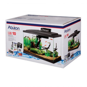 PECERA AQUEON LED AQUARIUM KIT 10 GLS -17855
