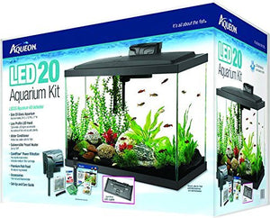 PECERA AQUEON LED AQUARIUM KIT 20 GLS -17860-
