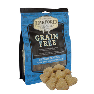 DARFORD TREATS PARA PERRO GRAIN FREE BREATH BEATERS 340g