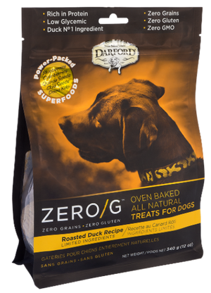 DARFORD TREATS P/PERRO ZERO/G ROASTED DUCK 340g