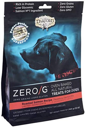 DARFORD TREATS P/PERRO ZERO/G ROASTED SALMON 340g