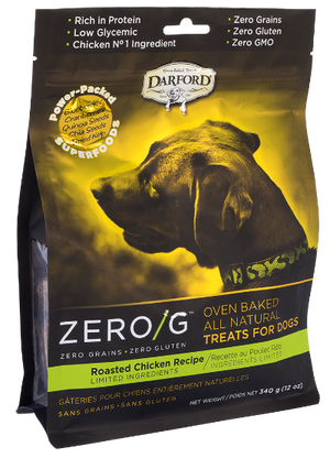 DARFORD TREATS P/PERRO ZERO/G ROASTED CHICKEN 340g