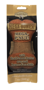 DARFORD MEGA BONE FLAVOR PEANUT BUTTER 7 oz