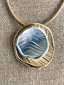 Circle on Circle Necklace
