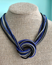 Load image into Gallery viewer, Sea Lily Piano Wire Knot Necklace