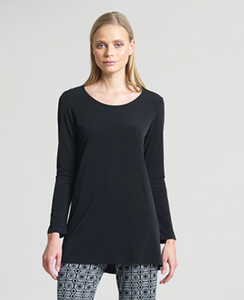 Clara SunWoo Basic Long Sleeve Tunic (2 Colors)