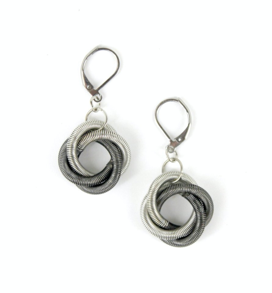 SeaLily Floating Knot Earrings