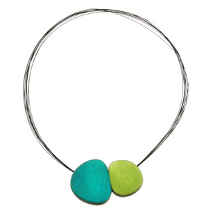 Origin Magnetic Pendant-Turq/Lime