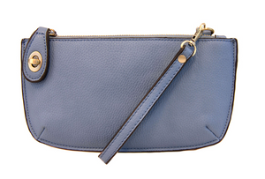 Mini Cross Body Wristlet Clutch (NEW COLORS)