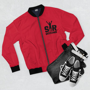Red Bomber Jacket SBCC